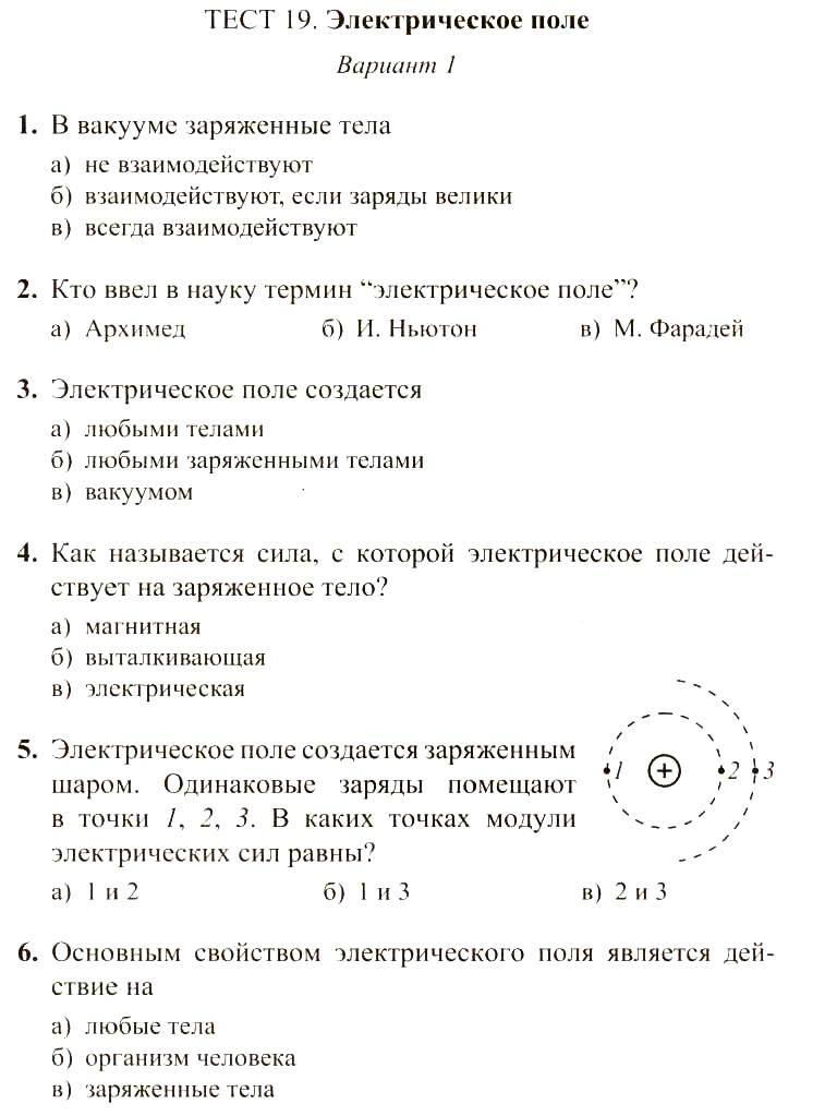 Тесты по физике 8 класс теплопроводность конвекция излучение - 309